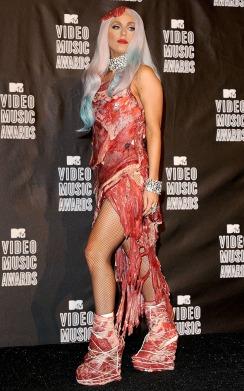 meat dress